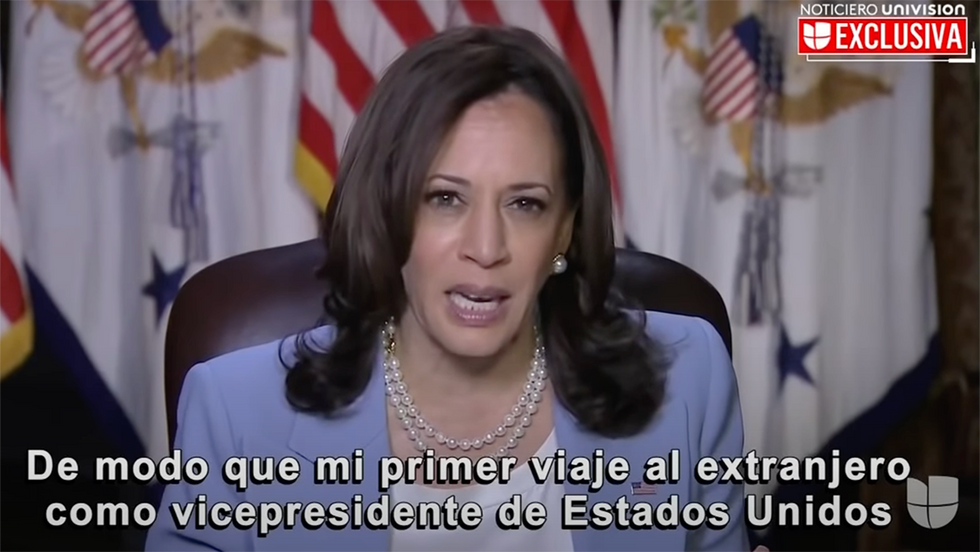 'I'm Not Finished': Kamala Harris Lashes Out at Hispanic Reporter Questioning Her on Border Crisis